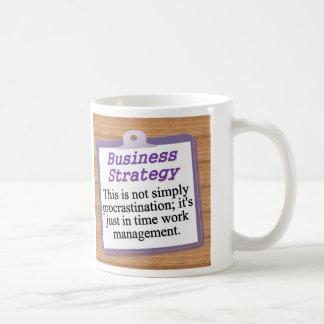 Estratégia empresarial caneca
