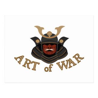 Estratégia militar da armadura do samurai cartão postal