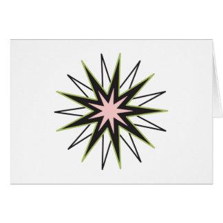 Estrela da fé de Baha'i Cartão