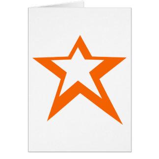 Estrela da vitória cartão