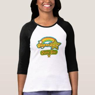 Estrela de cinema da estrela mundial t-shirts