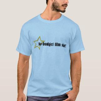 estrela de cinema do No-orçamento! Camiseta