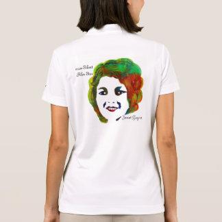 estrela de cinema silenciosa do 1920, Janet Gaynor T-shirt Polo