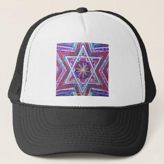 Estrela de David,… uma mistura das cores Boné