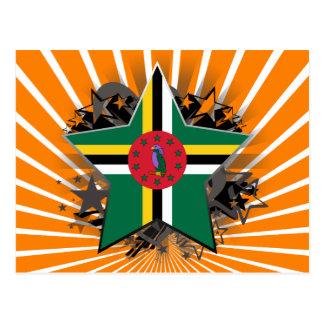 Estrela de Dominica Cartão Postal