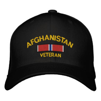 Estrela do bronze do veterano de Afeganistão Boné