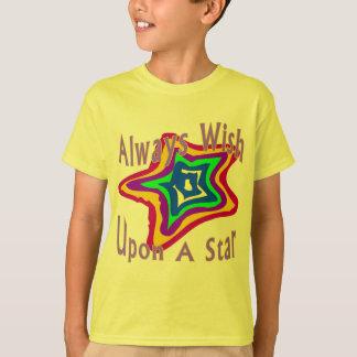 Estrela do desejo t-shirt