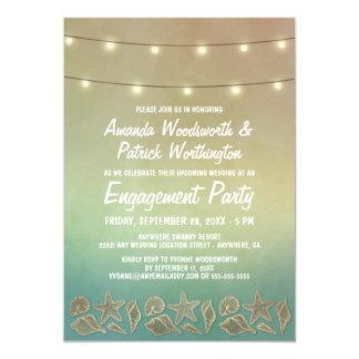 Estrela do mar + Convites da festa de noivado do