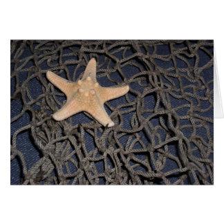Estrela do mar Notecard Cartão
