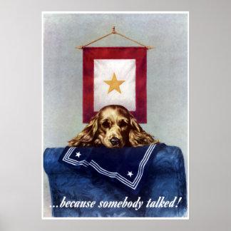 Estrela do ouro -- Porque alguém falou -- Beira Poster