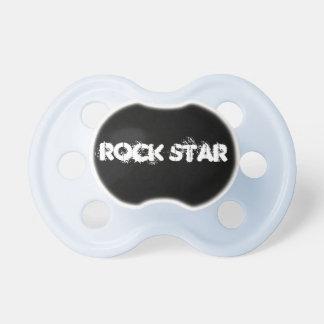 Estrela do rock chupeta