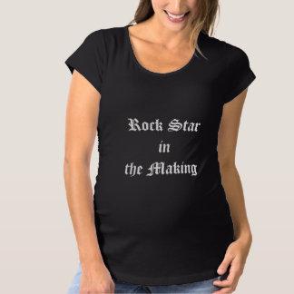Estrela do rock do bebê camiseta