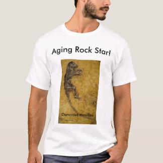 Estrela do rock do envelhecimento! tshirt