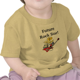 Estrela do rock futura camiseta