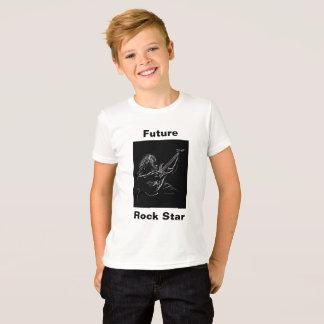 Estrela do rock futura t-shirt