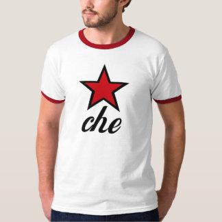 Estrela vermelha Che Guevara! Camisetas