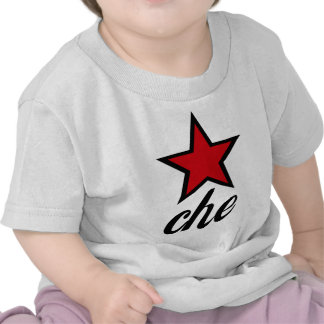Estrela vermelha Che Guevara! Tshirt