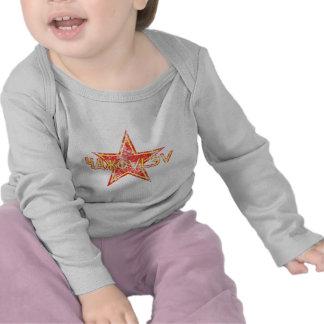 Estrela vermelha de Yakovlev vestida T-shirts