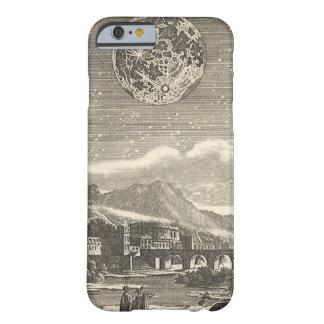 Estrelas celestiais da lua do renascimento da capa barely there para iPhone 6