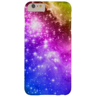 Estrelas coloridas arco-íris capa barely there para iPhone 6 plus