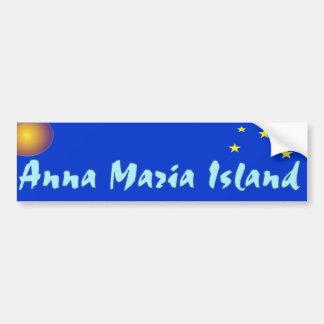 Estrelas de Anna Maria e autocolante no vidro tras Adesivo Para Carro