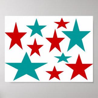 Estrelas Poster
