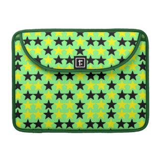 """Estrelas pretas e amarelas, Macbook pro 13"""" Bolsa Para MacBook"""