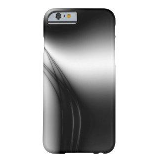 Estuário preto e branco capa barely there para iPhone 6