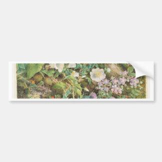 Estudo da flor - John Jessop Hardwick Adesivo Para Carro