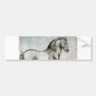 Estudo dos cavalos - Leonardo da Vinci Adesivo Para Carro