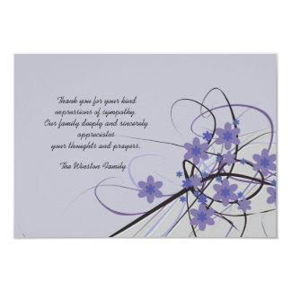 Eterno - obrigado do falecimento você Notecard Convite 8.89 X 12.7cm