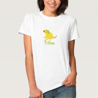 Ethen ama filhotes de cachorro t-shirts