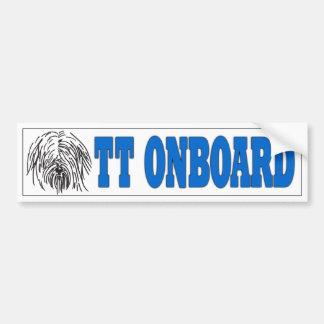 Etiqueta a bordo do TT Adesivos