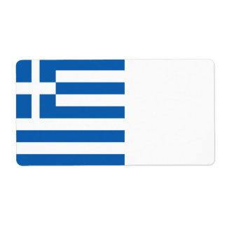 Etiqueta Bandeira da piscina