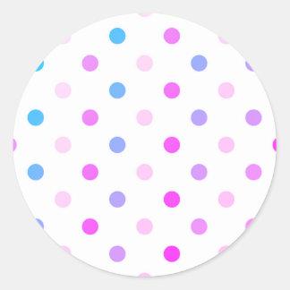 Etiqueta: com os pontos frescos do Marshmallow Adesivo