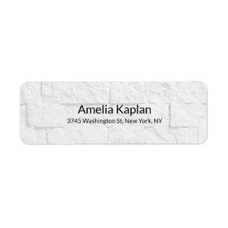 Etiqueta Criativo minimalista liso moderno da parede