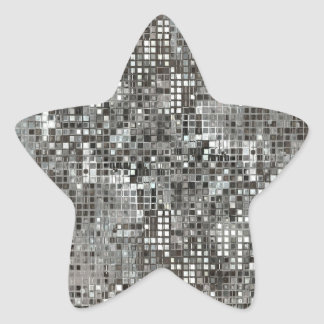 Etiqueta da estrela dos Sequins Adesito Estrela