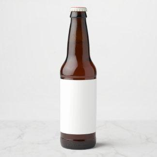 Etiqueta da etiqueta da garrafa de cerveja