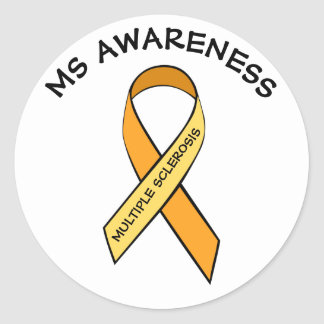 Etiqueta da fita da consciência da esclerose