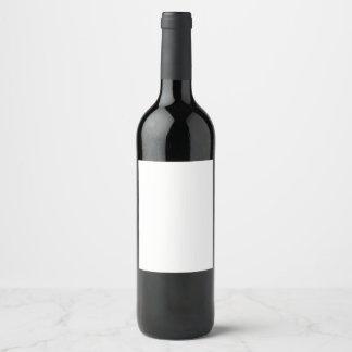 Etiqueta da garrafa de vinho