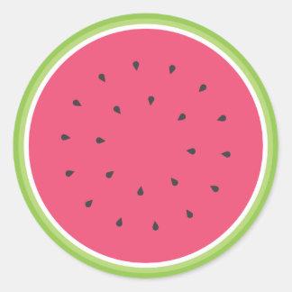 Etiqueta da melancia