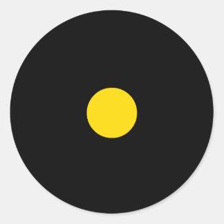 Etiqueta da parte do jogo de RAINBO - amarelo Adesivo