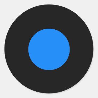 Etiqueta da parte do jogo de RAINBO - azul médio Adesivo