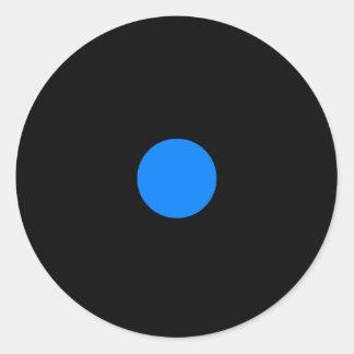 Etiqueta da parte do jogo de RAINBO - azul pequeno Adesivo