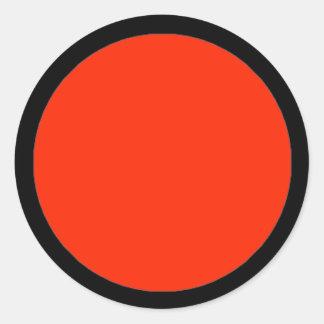 Etiqueta da parte do jogo de RAINBO - grande Adesivo