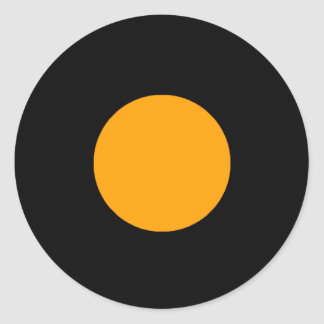 Etiqueta da parte do jogo de RAINBO - laranja Adesivo