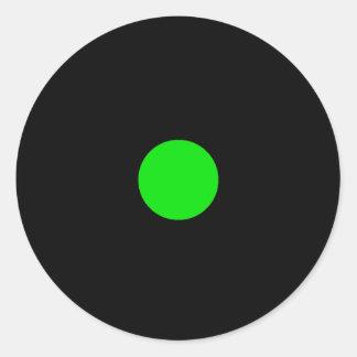 Etiqueta da parte do jogo de RAINBO - verde Adesivo