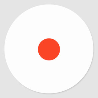 Etiqueta da parte do jogo de RAINBO - vermelho Adesivo