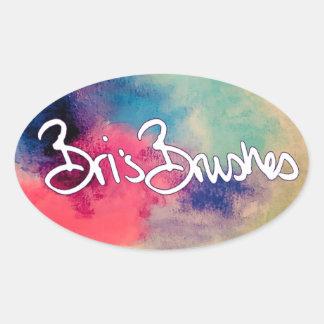 Etiqueta das escovas de Bri