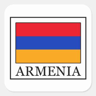 Etiqueta de Arménia